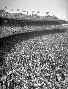 1956 Olympic Stands at the Melbourne, Australia games