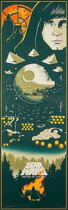 Star Wars — The Geeky Nerfherder: Cool Art: 'Star Wars: Return...