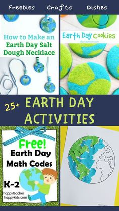 A list of top 25 best crafts of Earth Day for kids using old papers and recyclable scraps available in house. A great way to teach kids about how important natural resources on this planet are. And there cannot be a more critical and perfect time than this.  #earth #day #activities #freebies #diy #planet #crafts #kids