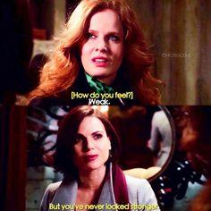"""You've never looked stronger"" - Regina and Zelena"