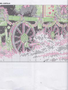 Gallery.ru : 58savinkina Santa Cross Stitch, Cross Stitch Boards, Christmas Scenes, Christmas Cross, Christmas Stuff, Cross Stitching, Cross Stitch Embroidery, Cross Stitch Designs, Cross Stitch Patterns