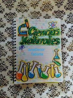 Originales caratulas de ciencias sociales para 1er grado Front Page Design, Notebook Art, Decorate Notebook, Border Design, School Supplies, Diy And Crafts, Birthday Cards, Graffiti, Doodles