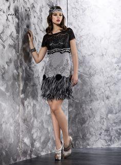 4437 - Vestido de Fiesta - Valerio Luna