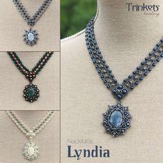 Beading pattern - Necklace 'Lyndia'