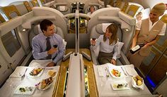 Emirates Airbus A380 First Class Private Suites