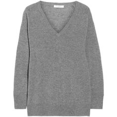 Equipment Asher oversized cashmere sweater (7.240 ARS) ❤ liked on Polyvore featuring tops, sweaters, equipment, cashmere, grey, cashmere sweater, equipment sweaters, gray oversized sweater, oversized tops and grey cashmere sweater