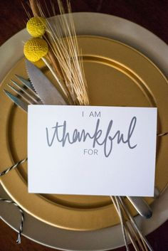 Printable DIY Placecards | Thanksgiving Table Settings to WOW Your Guests | Thanksgiving Decorations
