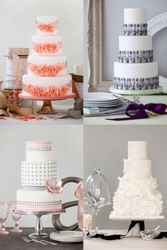 Bobbette & Belle Signature Wedding Cakes Based in toronto starting at 800 dollars