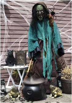 Halloween Witch Prop Decorations