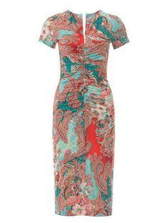 Burda Style 06/2015 #121: Fitted Knit Sheath Dress