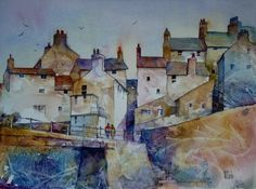 Staithes Footbridge by Malcolm Coils