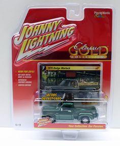 1:64 JOHNNY LIGHTNING CLASSIC GOLD RELEASE 2B - (2016) - 1978 DODGE WARLOCK #JohnnyLightning #Dodge