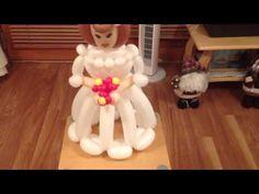 Balloon Model bride. - YouTube