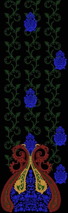 Latest Embroidery Designs For Sale, If U Want Embroidery Designs Plz Contact (Khalid Mahmood, +92-300-9406667) www.embroiderydesignss.blogspot.com Design# Angar55-B
