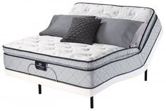 [special_offer]What are the features of Serta Perfect Sleeper Bradburn Super Pillow Top Mattress Motion Essentials II Adjustable Bed Set (Queen)Includes Serta P Pillow Top Mattress, Best Mattress, Foam Mattress, Luxury Bed Sheets, Luxury Bedding, Memory Foam, Swivel Recliner, Selling Furniture, Bed Base