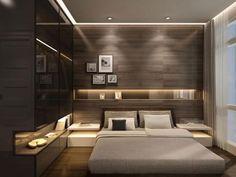 chambre coucher moderne petite chambre coucher plus - Petite Chambre Avec Dressing