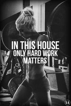 hard work Fitness motivation inspiration fitspo crossfit running workout exercise lifting weights we Sport Motivation, Motivation Crossfit, Fitness Motivation Pictures, Health Motivation, Morning Motivation, Half Marathon Motivation, Crossfit Quotes, Crossfit Humor, Powerlifting Motivation