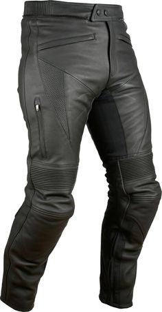 Men's Advanced Armored Padded Black Motorcycle Jacket