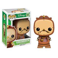 Funko POP! Disney - Vinyl Figure - COGSWORTH (Beauty & The Beast) (Pre-Order ships TBD): BBToyStore.com - Toys, Plush, Trading Cards, Action Figures & Games online retail store shop sale