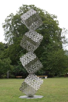 Modern Islamic Sculpture by Pete Moorhouse (UK)