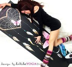 "YoWhee Yogamatte ""catch your dream"" design by littleyogabunny yoyogamattcyd Yoga, Dreaming Of You, Design"