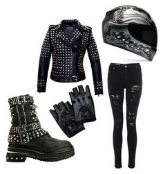 """""""Biker"""" by we-are-the-mcrmy on Polyvore featuring Jeffrey Campbell"""