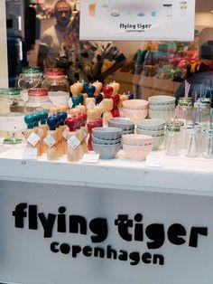 Tiger Flying, Tiger Shop, Flying Tiger Copenhagen, Moodboard, Halles, Denmark, Identity, Shops, Paris
