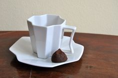 ReNika.cz: square cup (Slavkov porcelein) Sugar Bowl, Bowl Set, Tableware, Dinnerware, Dishes