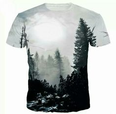ff21660585cab New Arrivals Men Women T-shirt Print Winter Forest Trees Quick Dry Summer  Tops Tees Brand Tee shirts Item Type  TopsTops Type  TeesGender  MenStyle   Fashio