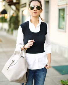6ccd510e7bf Dots and Honey - Express sweater vest
