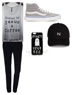 """Jesus Love"" by haschaklover ❤ liked on Polyvore featuring Plakinger, Vans, ASOS and New Black"