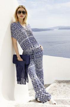 Die schönsten #Damen #Citylooks für den #Sommer2016. #Sommermode #Santorini #Womenswear #Reischmann #Bluse #Pants #summer
