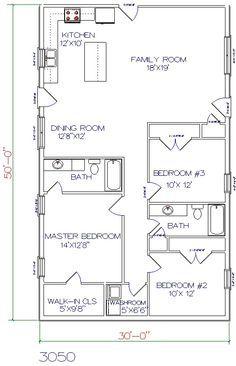 30 x 50 house plans House Plans Pinterest