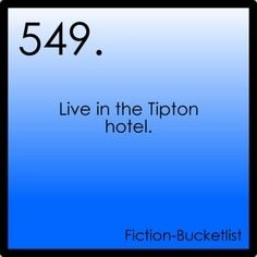 Fiction Bucket List -  Suit Life of Zack and Cody