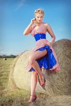 pinup girl pinup hair pinup dress