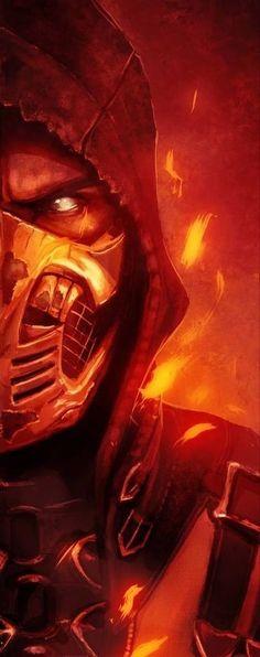 Mortal Kombat X Wallpapers, Mortal Kombat Art, Mortal Combat, Batman Vs Superman, Scorpion, Video Game, Death, Comic Books, Darth Vader