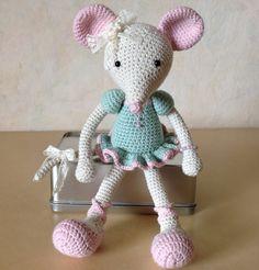 Ballerina muis van Lilleliis Was erghhhhhhhhhhhhh leuk om te maken!!!!