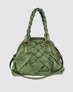 VALENTINO GARAVANI green pocketbook