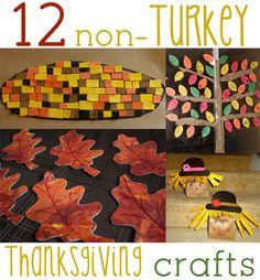 12 Non-Turkey Thanksgiving Crafts & Activities