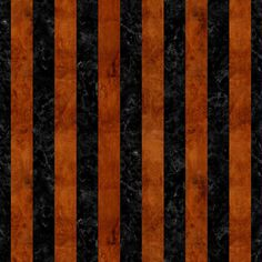 A vertical striped pattern using black marble and brown burled wood.