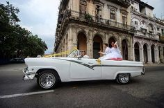 '#Newlyweds cruise down the street in a classic American car waving at #wedding guests and curious onlookers. #havanacuba  #milestones' by @jamalgay.  #bridesmaid #невеста #parties #catering #venues #entertainment #eventstyling #bridalmakeup #couture #bridalhair #bridalstyle #weddinghair #プレ花嫁 #bridalgown #brides #engagement #theknot #ido #ceremony #congrats #instawed #married #unforgettable #romance #celebration #wife #husband #celebrate #congratulations #together #smiles #forever…