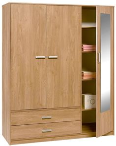 6f0b0fbf9db576 Armoire 3 Portes, Armoire Penderie, Penderie Dressing, Commode, Beaux  Meubles, Mobilier