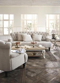 This cozy seating area—designed by @thedesigncoach—utilizes a neutral palette. | See more: https://luxesource.com/resources/the-design-coach?utm_source=pinterest. |#luxeChicago