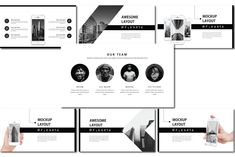 Meikarta Free PPT Templates is a Minimal professional, Black & White, ultra-modern and unique design! Each slide of this template Free Ppt Template, Templates, Brochure Design, Keynote, Color Change, Presentation, Layout, Black And White