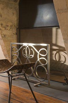 Fireplace, Interior by Stedila Design Fireplace Design, Portfolio Design, Neon Signs, Traditional, Living Room, Interior Design, Fireplaces, Home Decor, Nest Design