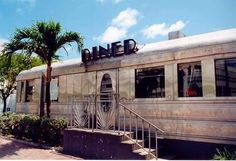 by day... 11th Street Diner, Miami FL
