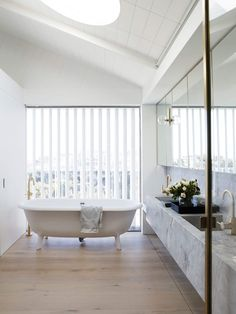 Bathroom | Clovelly House by Madeleine Blanchfield Architects | est living