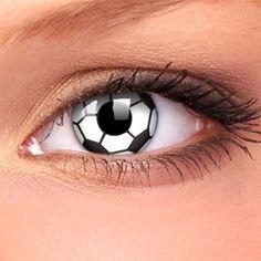 Lihat deh lensa kontak berbentuk bola sepak ini. Keren nggak sih menurut kamu, Teman Smartfren? #SMARTsport