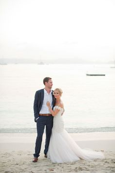 Real Wedding: Becky+Brandon |  Dress: Lea-Ann Belter Rosemary via Lovely DC | Images: Elisha Orin Photography