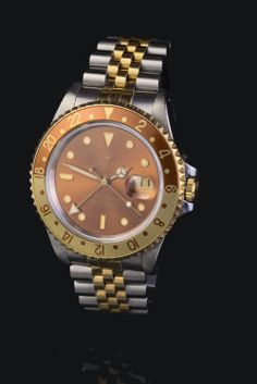 A beautiful Rolex GMT-Master 2 with brown dial